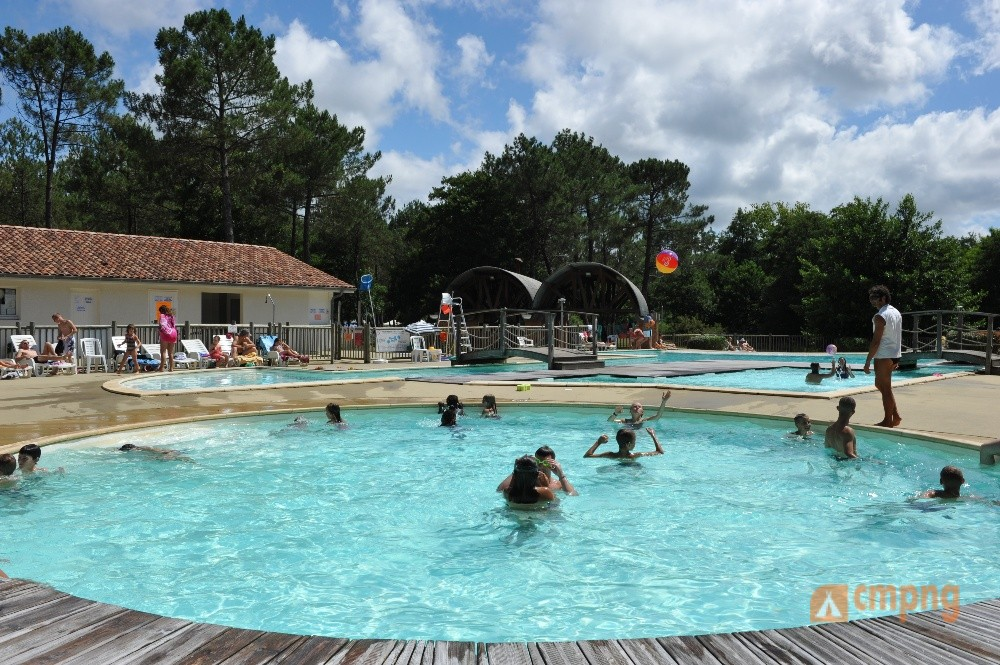 Camping Azurivage, Azur, Landes