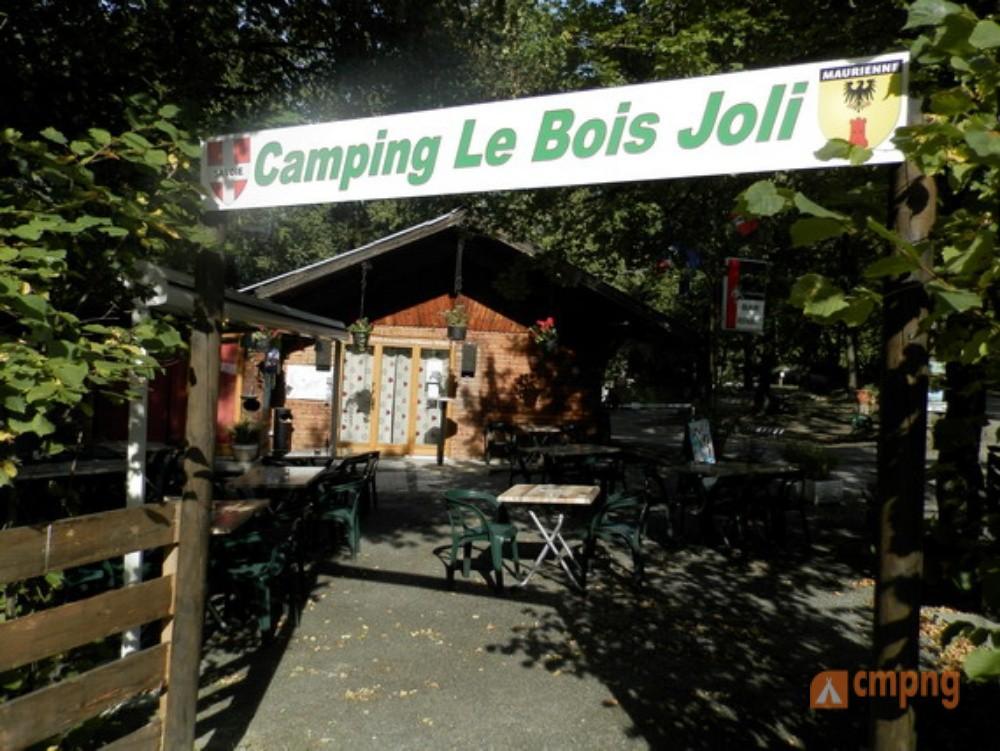 Camping Le Bois Joli, St Martin sur la Chambre, Savoie ~ Camping Le Bois Joli