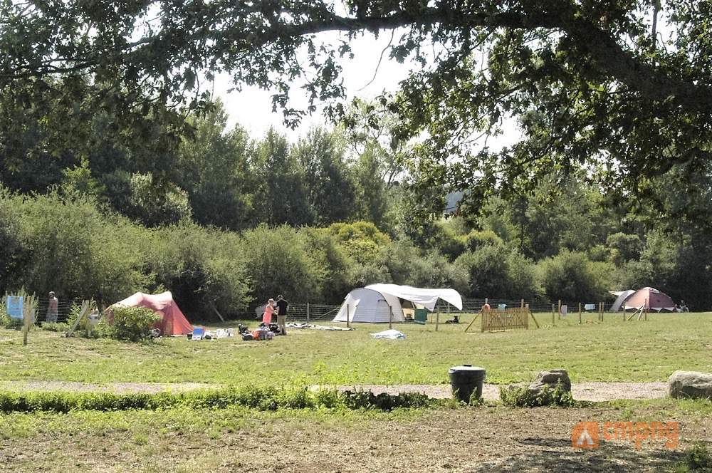 Hondencamping le Grand Larue, Couleuvre, Allier