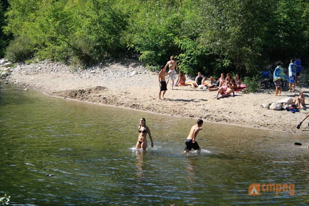 Camping les Châtaigniers, Ribes, Ardèche