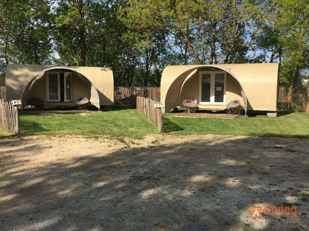 Camping les Rives de Grand Lieu, Saint-Philbert-de-Grand-Lieu, Loire-Atlantique